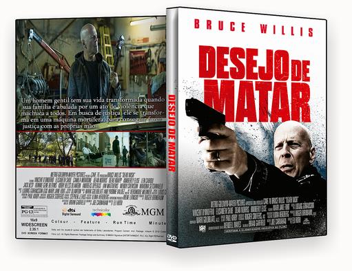 DVD – DESEJO DE MATAR 2018 – ISO – CINEMA