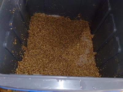 Post mash grains