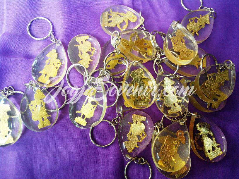 Souvenir Gantungan Kunci Wayang