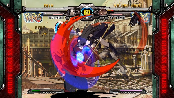 Guilty Gear XX Accent Core Plus R PC Full Version Screenshot 1