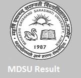 MDSU exam Result