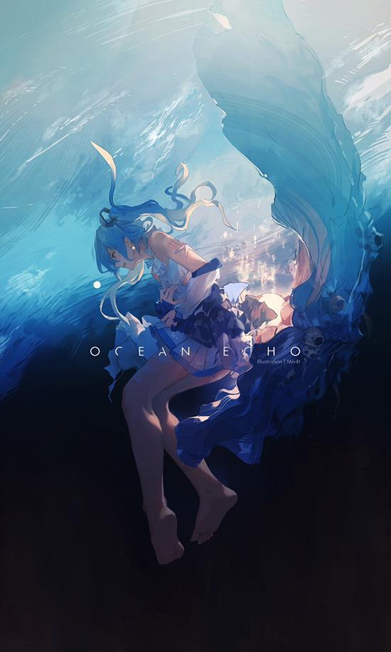 Ocean Echo Wallpaper Engine