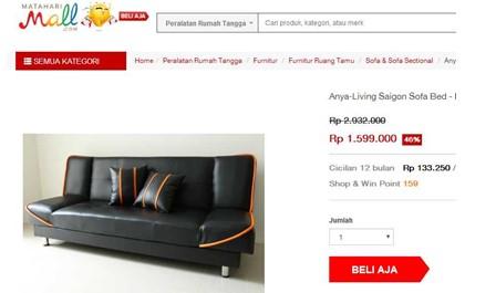 Sofa Minimalis Kursi Bangku Properti