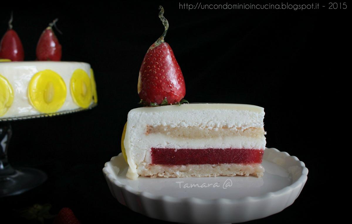Un condominio in cucina Torta Biancomangiare di Iginio Massari ririvisitata a 4 mani ho