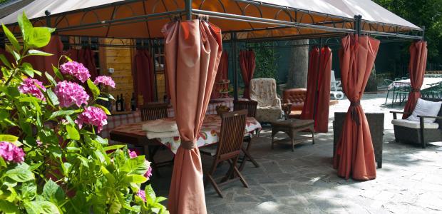 rideau rideau exterieur. Black Bedroom Furniture Sets. Home Design Ideas