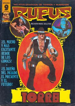Rufus Luis Bermejo - dibujante de comic  RIP