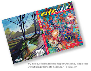 The front and back cover of the book Acrylicworks 4