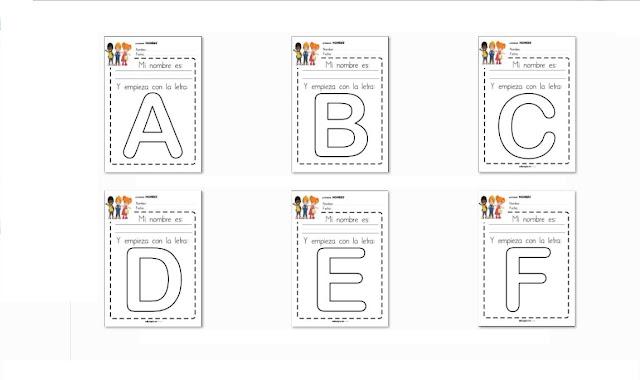 letras,palabras,preescolar,inicial,aprender leer