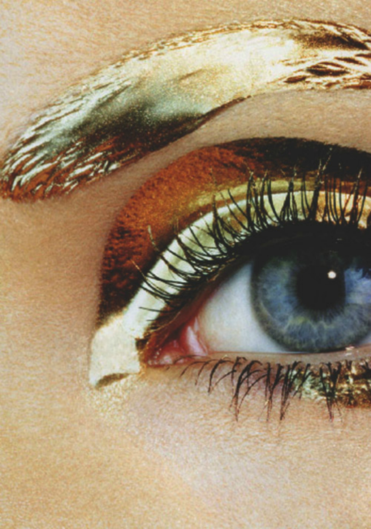 gold eyeshadow [tumblr inspiration]