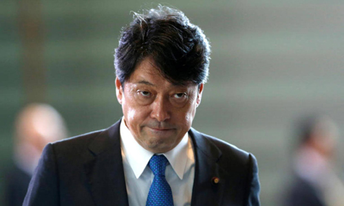 Bộ trưởng Quốc phòng Nhật Bản Itsunori Onodera. Ảnh: Reuters.