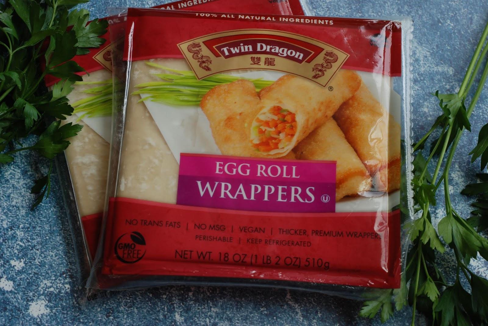 Fleur De Lectable Crispy Chicken Parm Egg Rolls