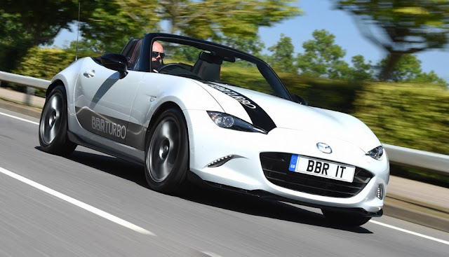 BBR turbocharges 2.0-liter Mazda MX-5 to reach 248 hp