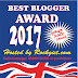 Best Blogger of the year 2017 Award Competition