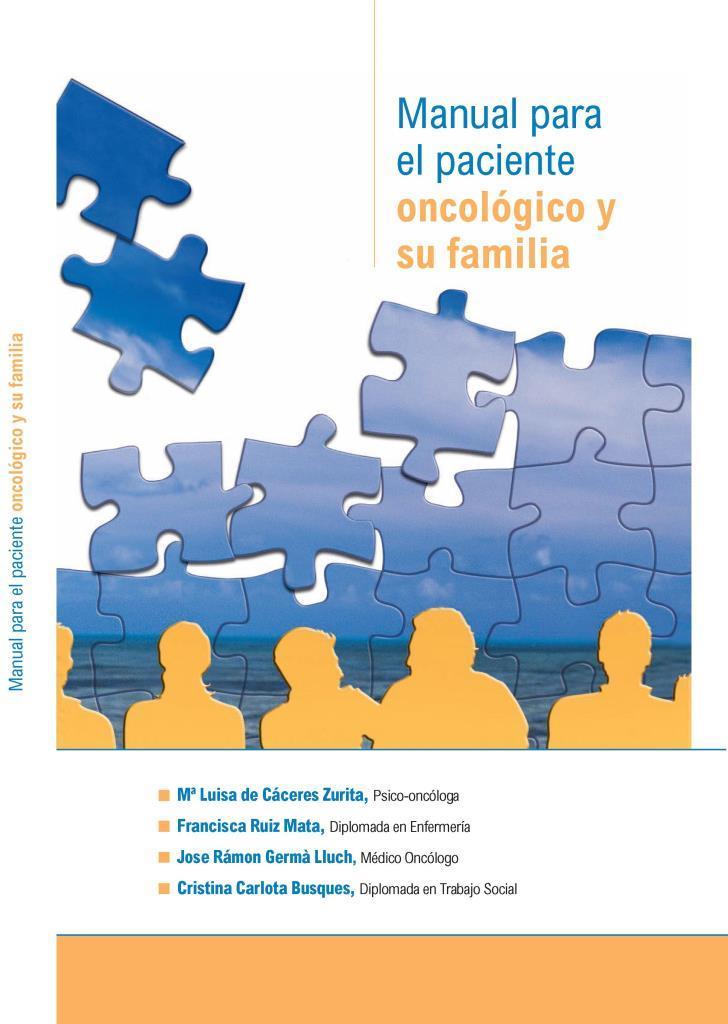 Manual para el paciente oncológico y su familia