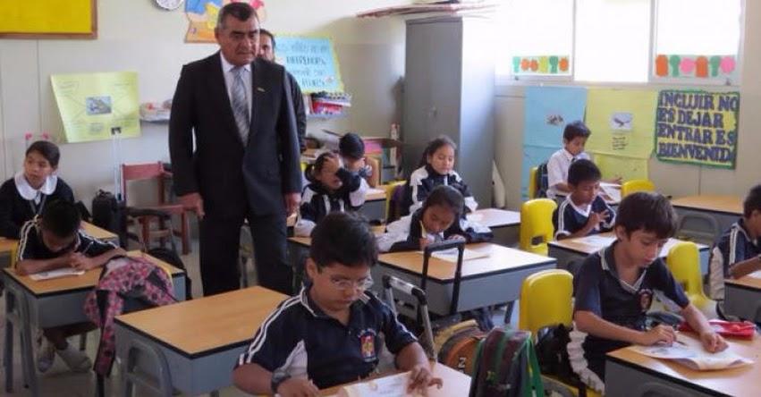GRE Lambayeque alista primera evaluación 2017 a escolares en comunicación y matemática