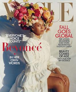 Zobacz jakie kwiaty miała na głowie Beyonce! Sesja dla Vogue September Issue 2018