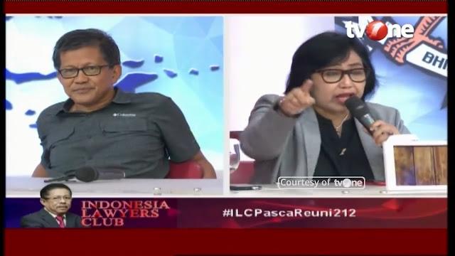 Tunjuk-Tunjuk Rocky Gerung, Ternyata Tim Jokowi Keliru Kutip Data