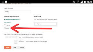 Cara edit gadged halaman blog