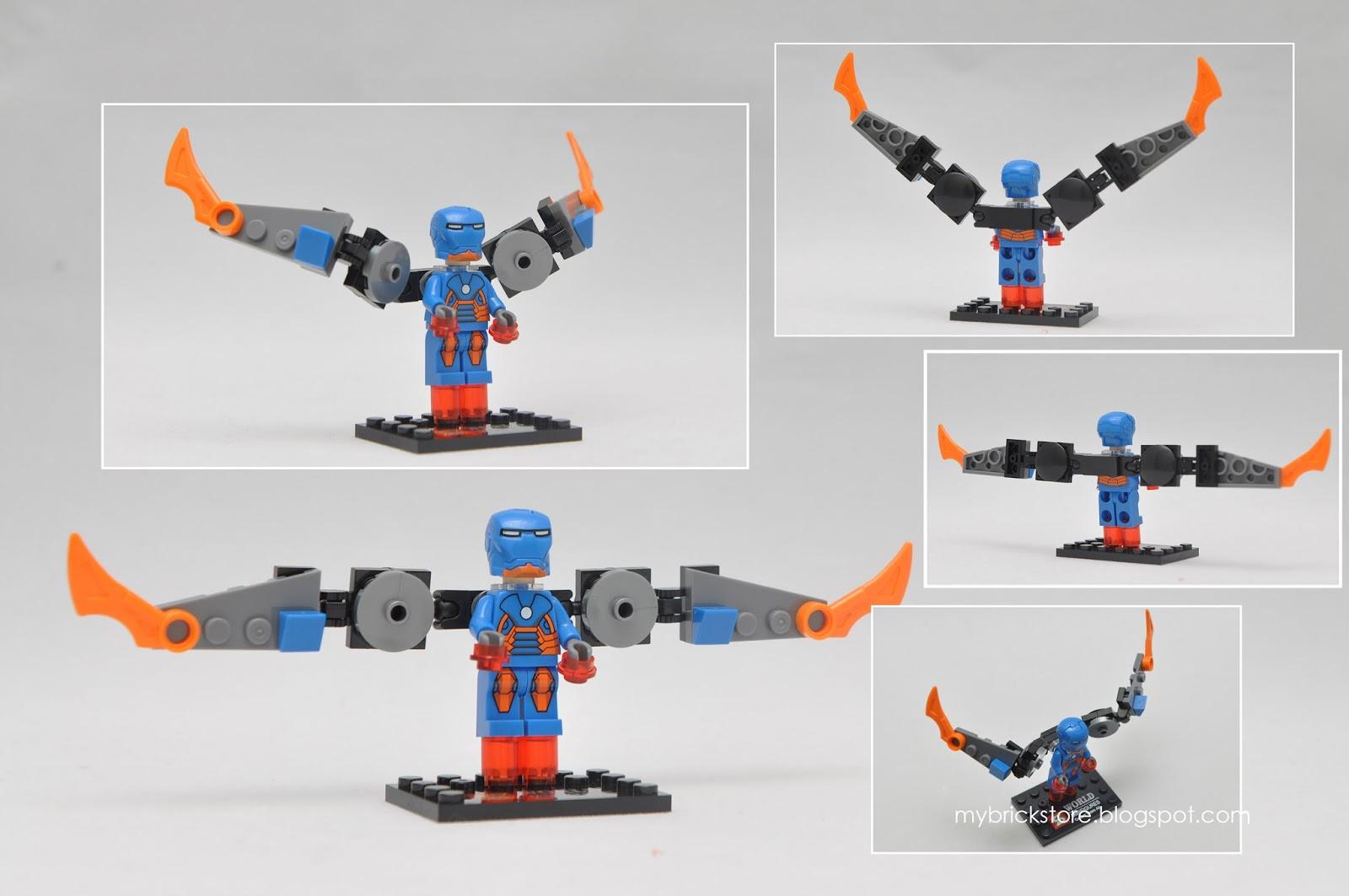Iron Man Lego Figures 15