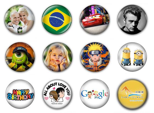 襟章是時下極為流行的飾物,適合社團活動、學生會組織、同人活動、產品推廣、紀念品等
