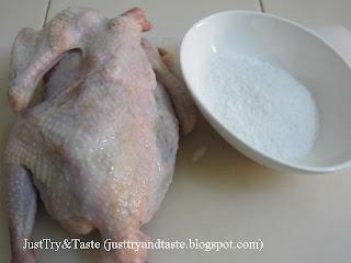 Resep Nasi Ayam Hainan Dengan Jamur Shiitake