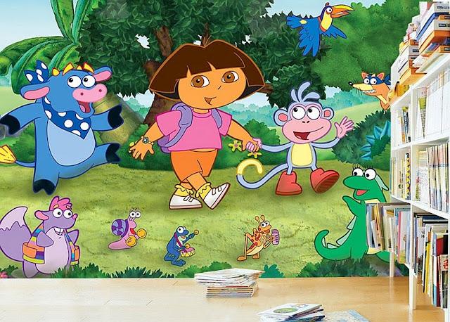 Famous Dora The Explorer Quotes: Dora The Explorer Wall Mural