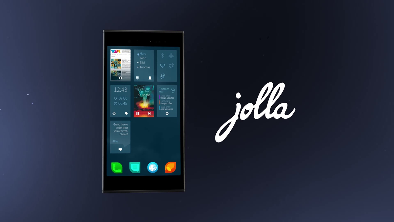 The Sailfish OS Usability Has Been Demoed On The Jolla Smartphone