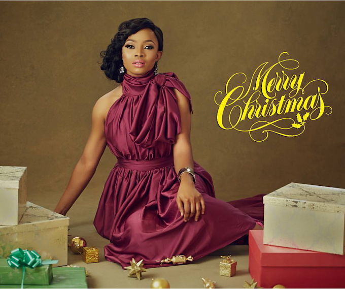 Celebrity Style - Check Out Pictures Of Toke Makinwa's Christmas Themed Shoot!