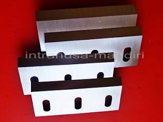 pisau industri, crusher, pisau giling plastik, pisau cacah plastik, pisau granulator, pisau industri intranusa mandiri sidoarjo 04