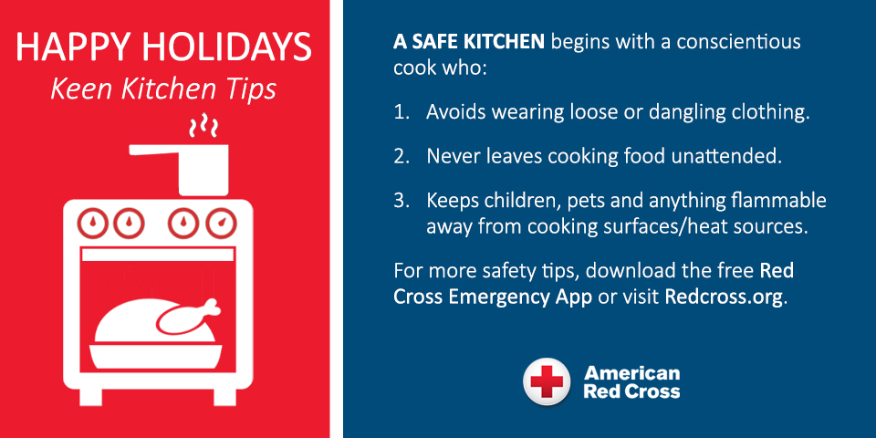 10 Holiday Cooking Safety Tips from Red Cross – Better Together