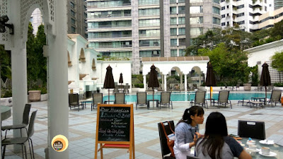 swimming pool area, Taman Sari Restaurant, Hotel Istana, Kuala Lumpur