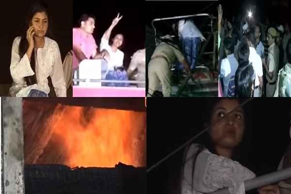 aap-mla-alka-lamba-hampers-relief-nupur-sharma-police-complain