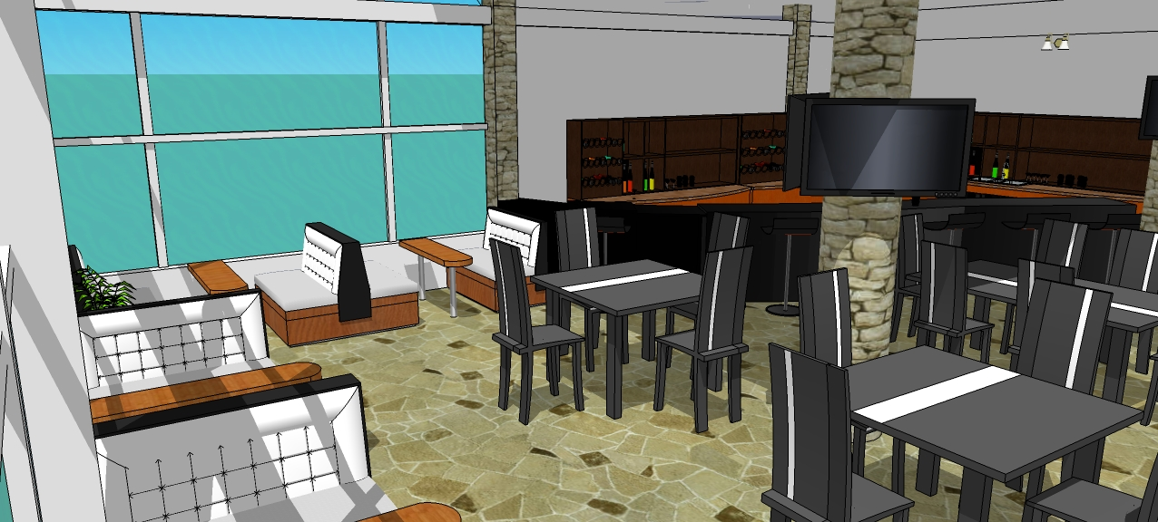 Proyecto terraza bar restaurant - Proyecto bar cafeteria ...