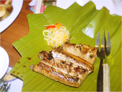 Yellowfin Tuna Grilled Belly