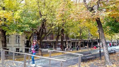 Autumn in Bratislava Slovakia
