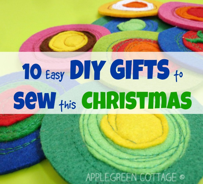 10 Easy DIY Gifts to Sew This Christmas