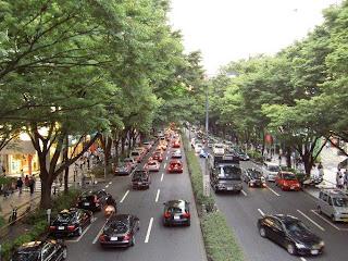 Jalan Omotesandom merek terkenal omotesando