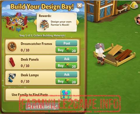 Build your Design Bay