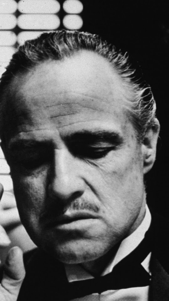 The Godfather Marlon Brando Actor Portrait  Galaxy Note HD Wallpaper