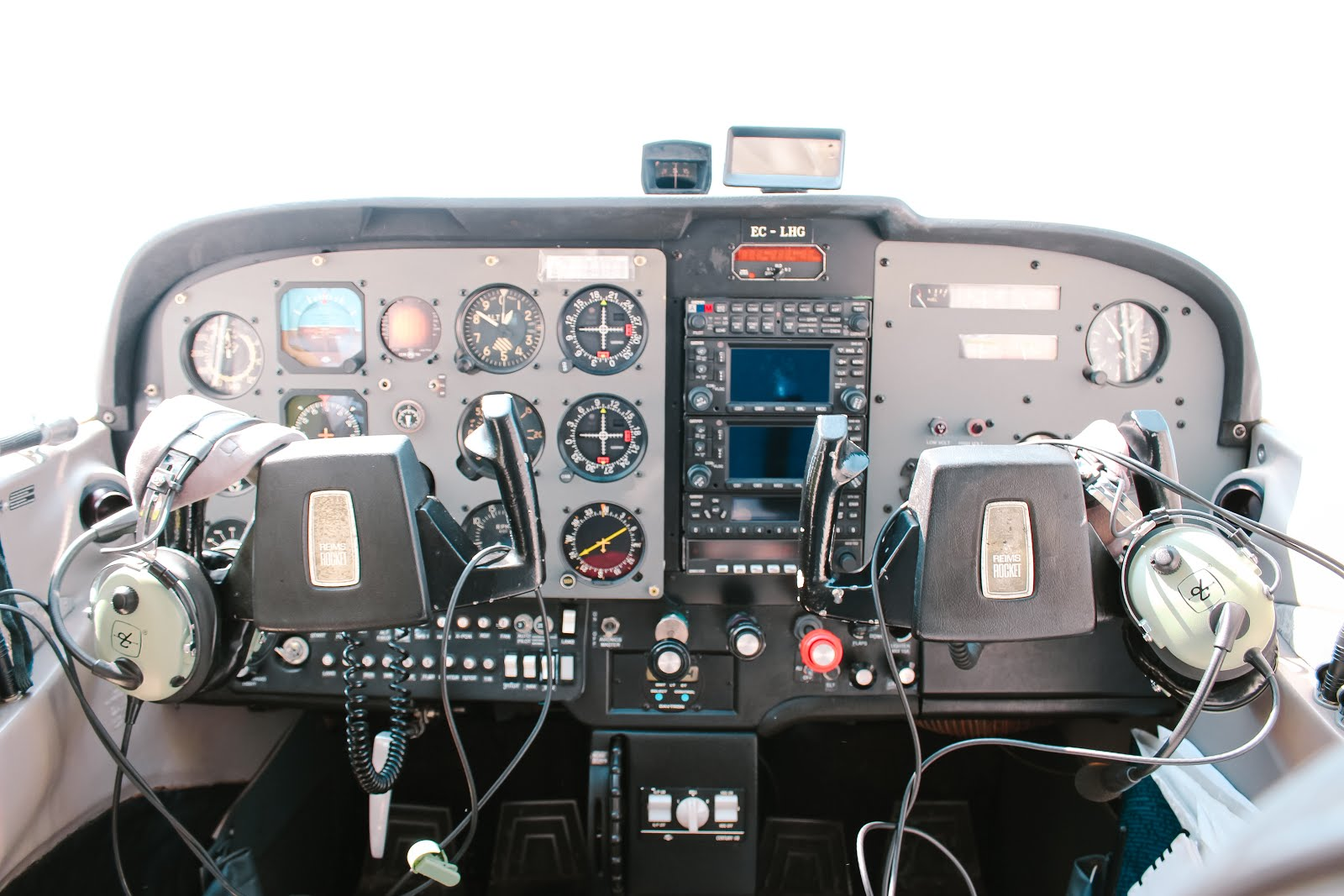 Interior Avioneta VigoExperience
