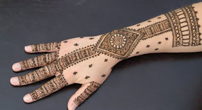 Best Bangle Mehndi Design