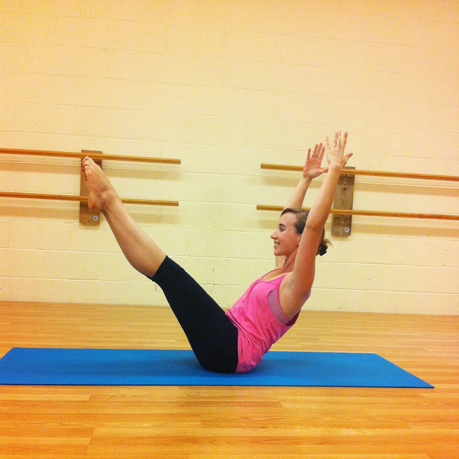 Sarah Badger: A Morning Pilates Mat Routine