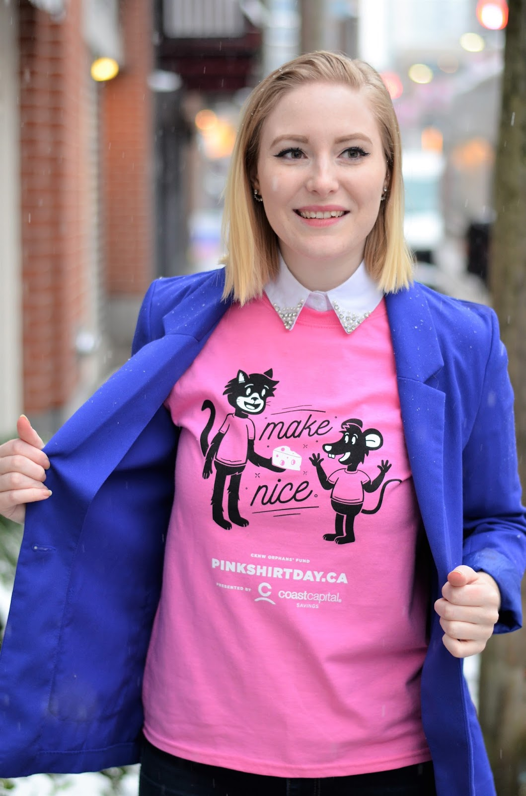Vancouver Vogue: Pink Shirt Day: Stand up to Bullying in Style!
