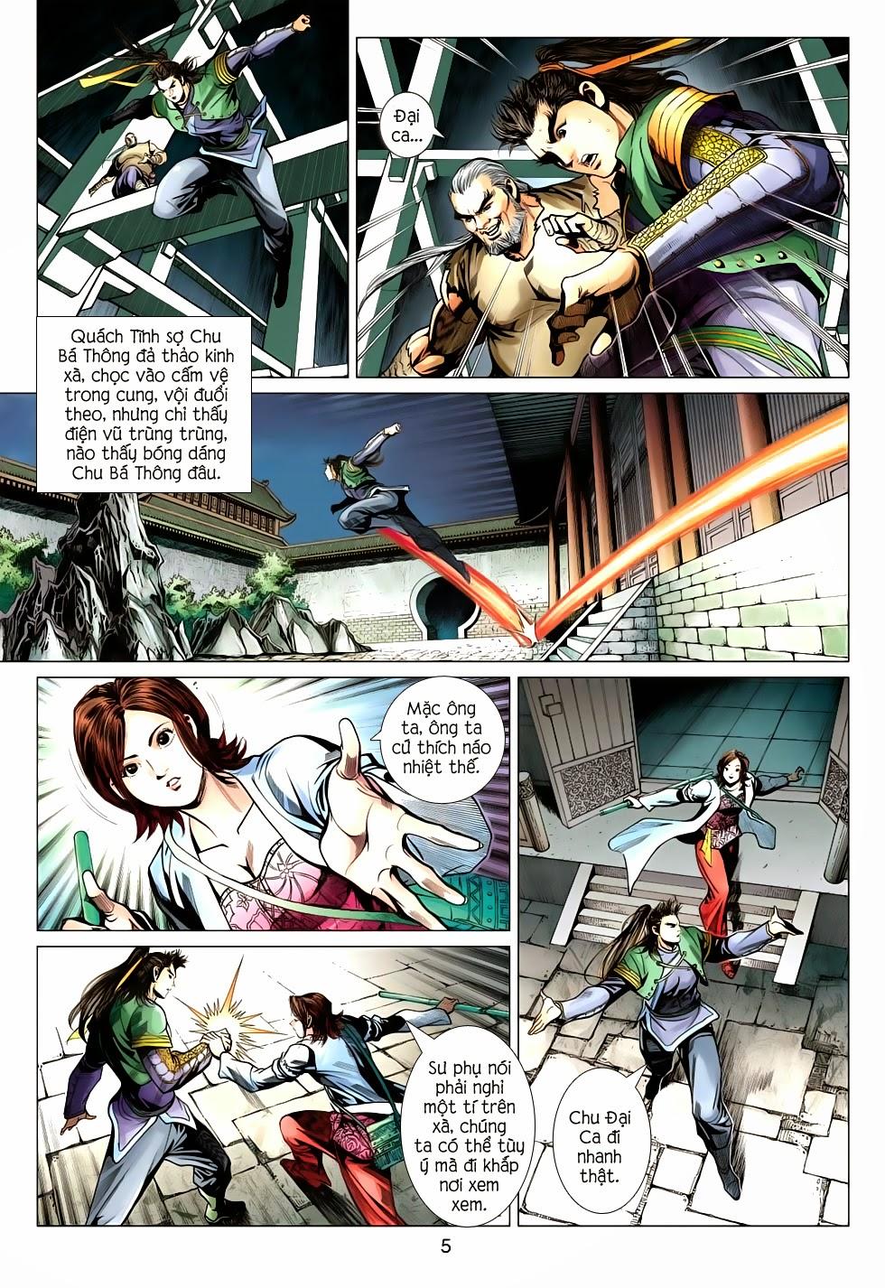 Anh Hùng Xạ Điêu anh hùng xạ đêu chap 56: tuyệt tình vô nghĩa lãnh huyết ác niệm trang 5