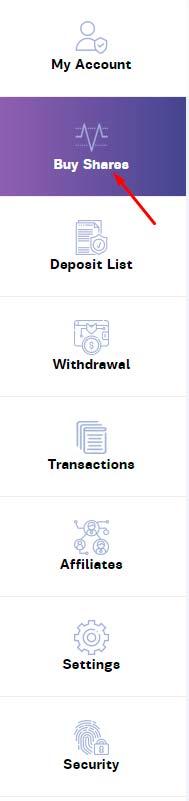 Создание депозита в Private Shares