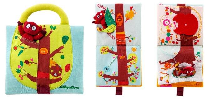 cuentos infantiles libros juego fomentar lectura a partir de jugar, libro tela lilliputens