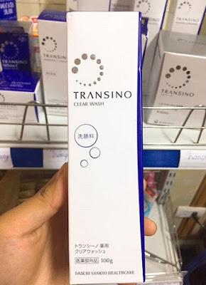 Sữa rửa mặt Transino Nhật Bản sản xuất trên công nghệ hiện đại, an toàn cho da