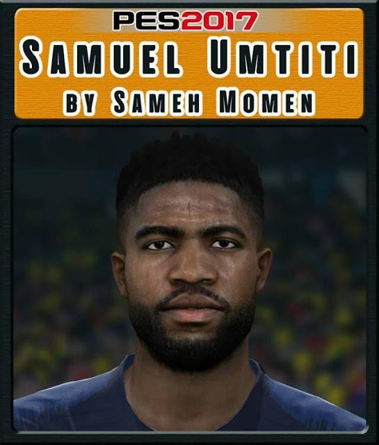 Samuel Umtiti Face PES 2017