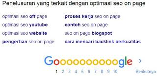 Optimasi SEO On Page Pada Blog Secara Lengkap
