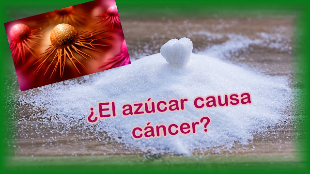 Azucar y cancer.